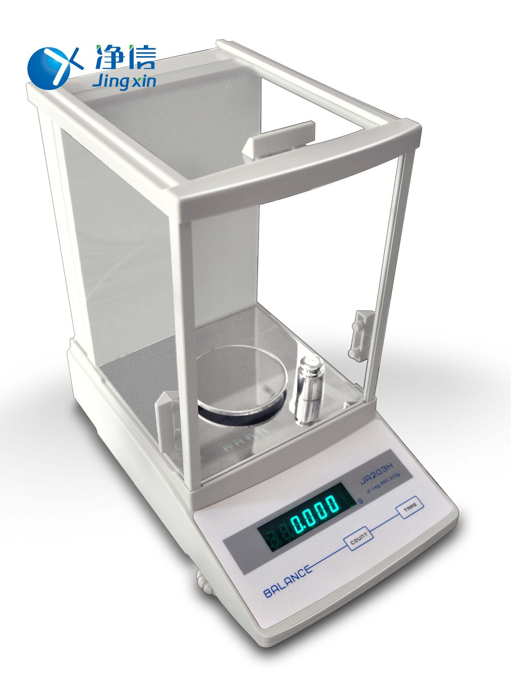 Jingxin Technology 300g/0.001g Electromagnetic Force Sensor Digital Electronic Analytical Balance Precision Scale JA3003