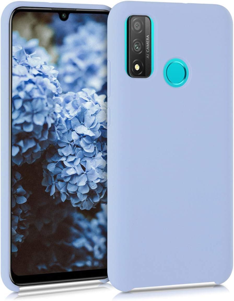 2020 kwmobile Funda Compatible con Huawei P Smart Cover Trasero en petr/óleo Mate - Carcasa de TPU para m/óvil