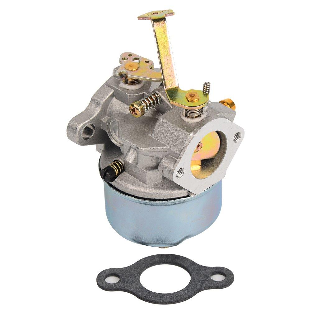 HIFROM Carburetor for Tecumseh 632631 632230 632272 Troy bilt Chipper vac 47279 47261 Tecumseh H30 H50 H60 Engines