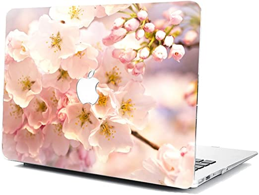 GSPSTORE MacBook Air 13 Inch Model A1369//A1466 Case,Flower Cherry Blossoms Pattern Hard Shell Protector Cover for MacBook Model A1369//A1466#05