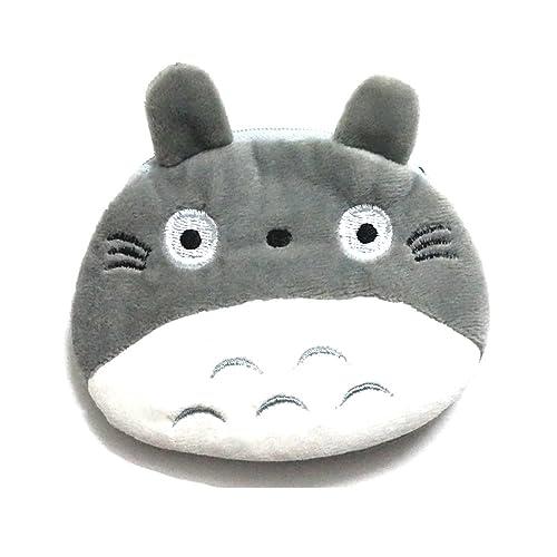 Manc Cute Totoro Plush Purse Pouch Mini Coin Handy Purse Zipper Wallet