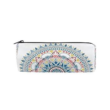 Mandala Bohemia - Estuche para lápices de flores, para niños ...