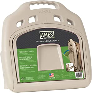 AMES 2382561 Poly Hose Hanger with Storage Bin, 150-Foot Capacity