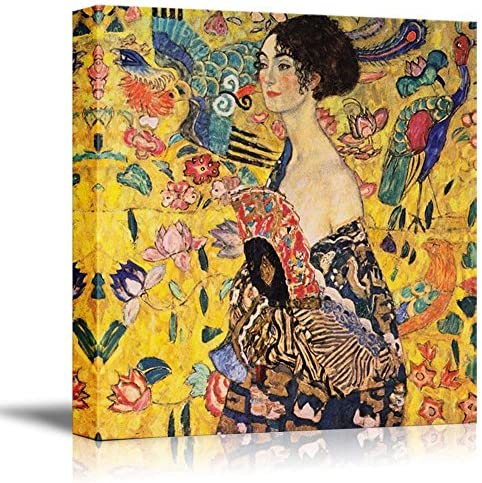 Woman Fan Lady Gustav Klimt product image