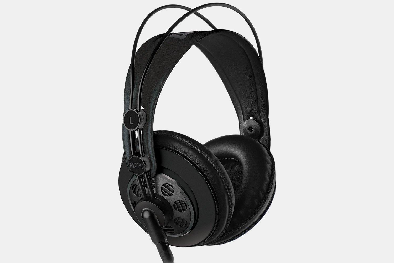AKG x Massdrop M220 PRO Black スタジオ セミオープン スタジオ ヘッドホン [並行輸入品] B078WN3843