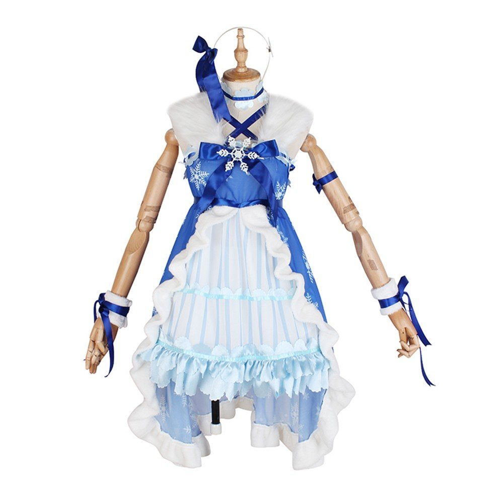 Love Live! Sunshine! Aqours You Watanabe Winter Snow Cosplay Costume