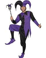Smiffy's Men's Medieval Jester Costume