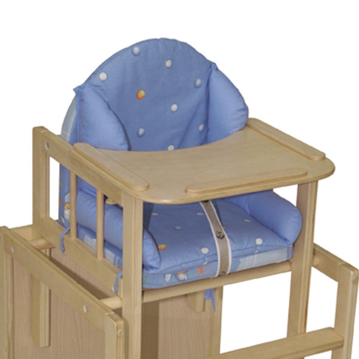 Sitzverkleinerer Hase weiche Polsterung wasserabweisend abwaschbar /• Baby Hochstuhl Stuhl Sitz Kissen Auflage Kind