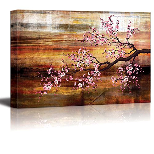 Abstract Cherry Blossom Wall Decor ation