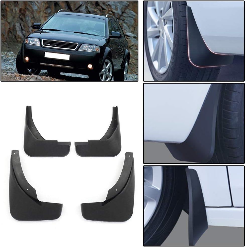 DBL 4Pcs Car Mud Flaps Mudguard for Audi A6 C7 2011-2016 Fender Splash Guards Black