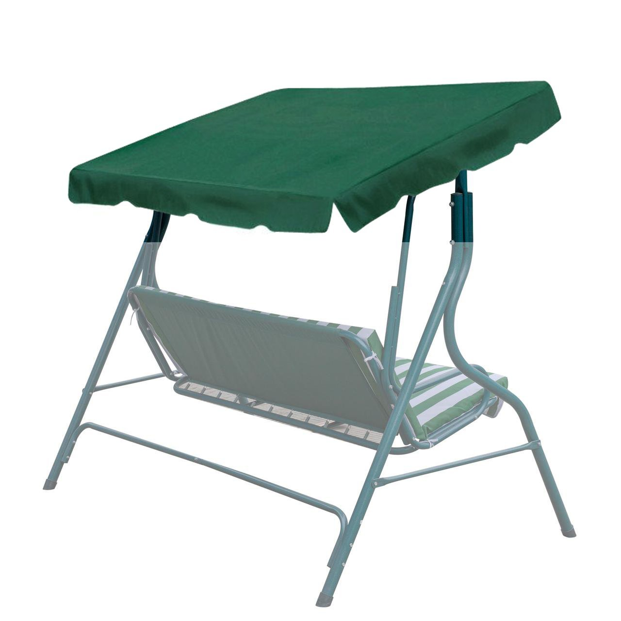 BenefitUSA Patio Outdoor 65''x45'' Swing Canopy Replacement Porch Top Cover Seat Furniture (Green) by BenefitUSA