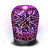 Essential Oil Diffuser Night Light 3D Effect Cool Mist Humidifier...