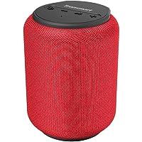 Tronsmart T6 Mini Altavoces Bluetooth 15W, 24 Horas de Reproducción, TWS Sonido Stereo 360°, IPX6 Waterproof, Altavoz portatil Bluetooth 5.0, Apoya TF Card Memoria USB de 64G y Asistente de Voz - Rojo
