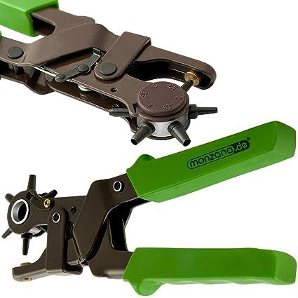 Sacabocados profesional 2 - 4,5 mm alicates cinturón agujero qgifts sacabocados