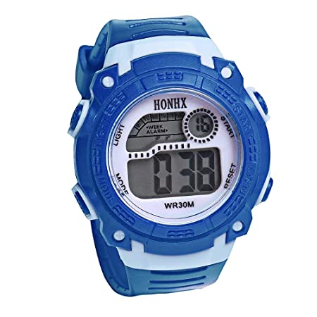 Niños Digital Relojes deportivos,Niños Impermeable Deporte ...