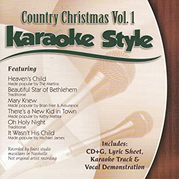 daywind karaoke style country christmas vol 1 - Free Country Christmas Music