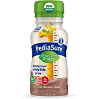 Pediasure Organic Kid's Nutrition Shake, Non-Gmo, No Artificial Flavors or Colors, No Artificial Growth Hormones, 7g…