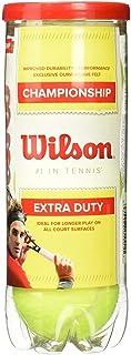 Wilson Championship extra Duty tennis Ball, 10332, Yellow, 12-Can
