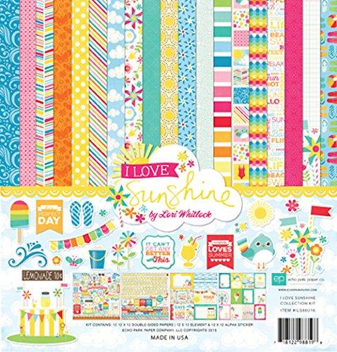 Echo Park Paper Company I Love Sunshine Collection -