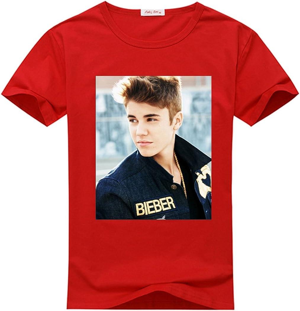 adamwilson Justin Bieber niña manga corta camiseta Tops Talla ...