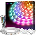 Govee 16.4ft Waterproof RGB Light Strip Kits with Remote