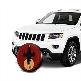 RV Fshionlicenkdseplate Universal Spare Wheel Tire Cover Fit for Truck Camper Van,Jeep,Trailer SUV Trailer Accessories