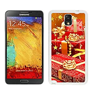 Galaxy Note 3 Case,Golden Christmas Gift Black TPU Note 3 Case-Christmas Series Samsung Note 3 Case