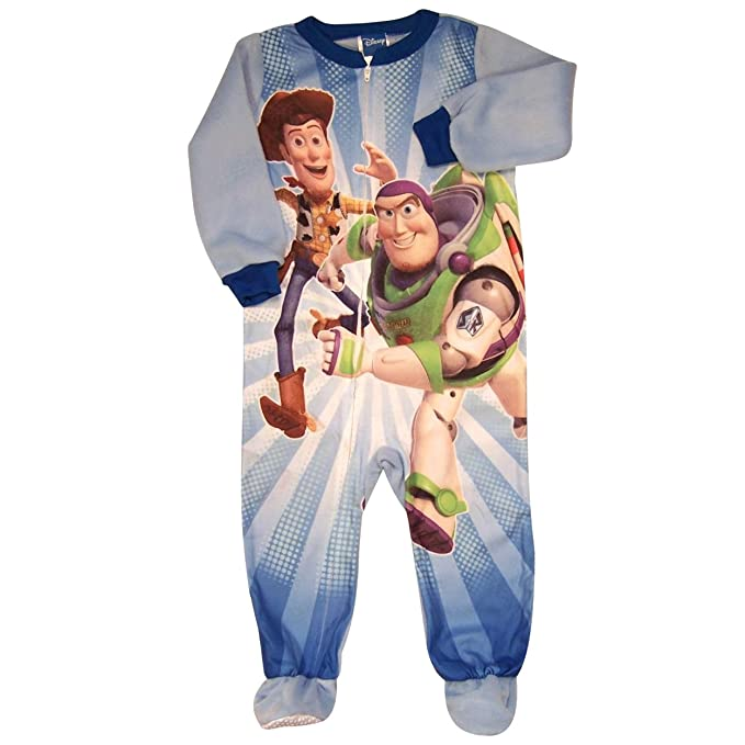 6e5a04cbc3 Image Unavailable. Image not available for. Color  Toy Story Infant Boys  Footed Blanket Sleeper Pajamas Size ...