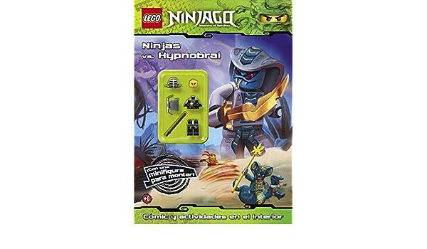 Ninjas Vs Hypnobrai Lego Ninjago Con Figura Lego 9788408013952