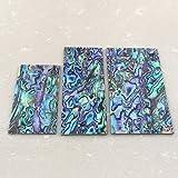 """Thickness 1.5mm(0.059"""") Nature Paua Abalone Flat"""