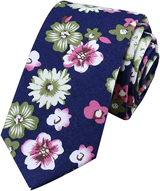 Gespout 1artículo Estampado Floral para Hombre Corbata Informal ...