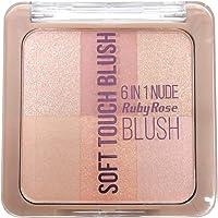 Blush Soft Touch 6 em 1 Ruby Rose HB-6109 - Cor 01