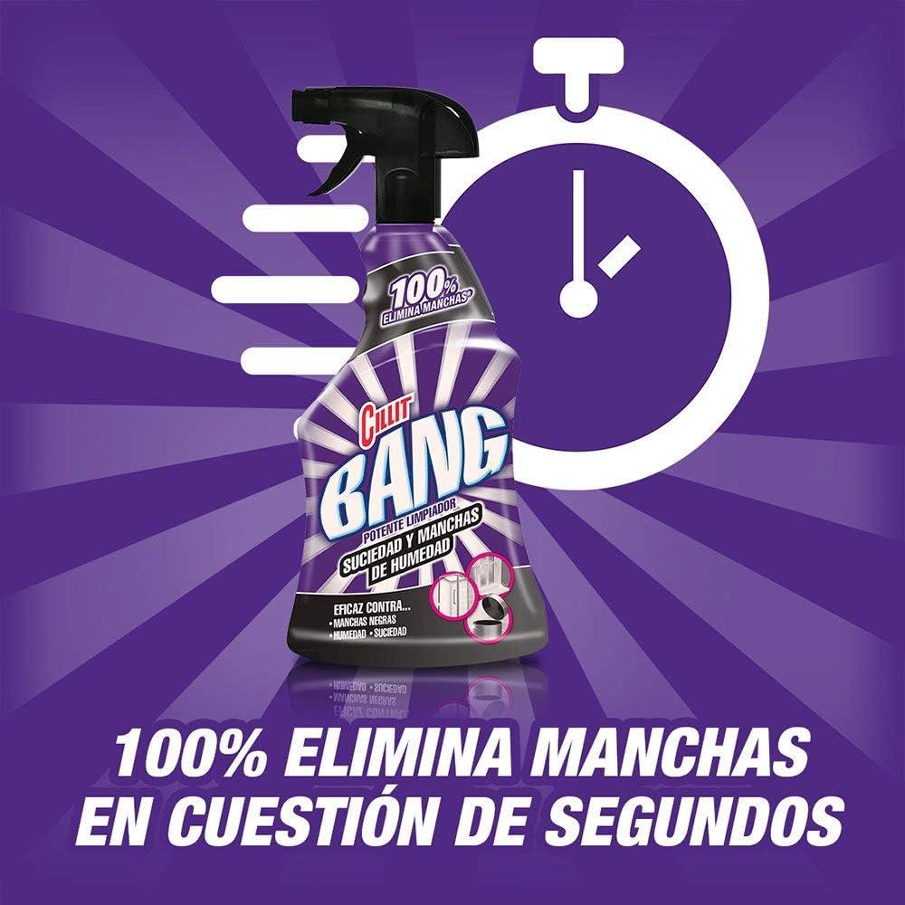 Cillit Bang Suciedad y Manchas de Humedad - Limpiador baño juntas negras spray, 750 ml: Amazon.es: Salud y cuidado personal