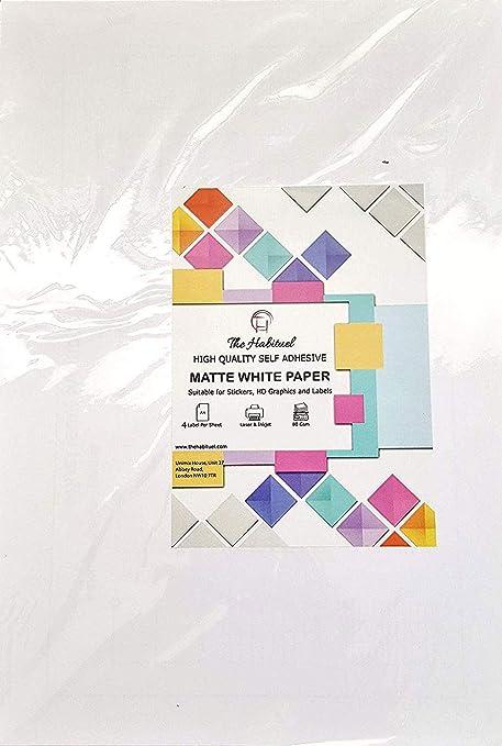 A4 Dirección de Correo hojas de etiquetas Impresora de ...