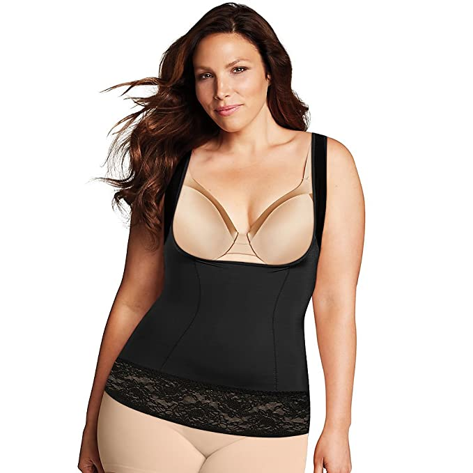 0e5827f3ff Maidenform Women s Firm Foundations Curvy WYOB Torsette at Amazon Women s  Clothing store