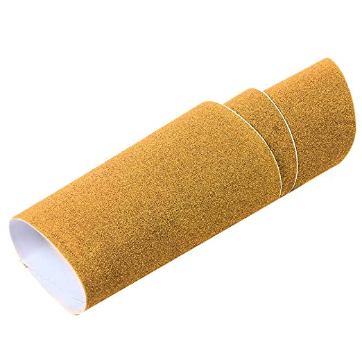 Grip Tape Sand - Adhesivo para patinete de skate y patinete, amarillo