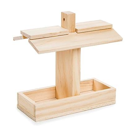 Amazon Com Darice Bulk Buy Diy Wood Model Kit Birdfeeder 8
