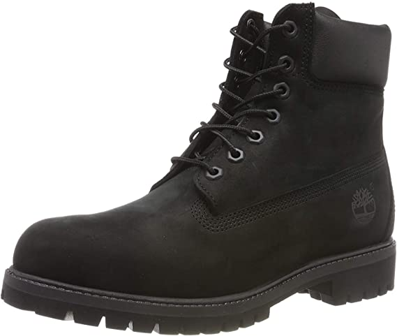 Timberland 6-Inch Premium Boot, Botas para Hombre, Negro (Black Nubuck), 41.5 EU