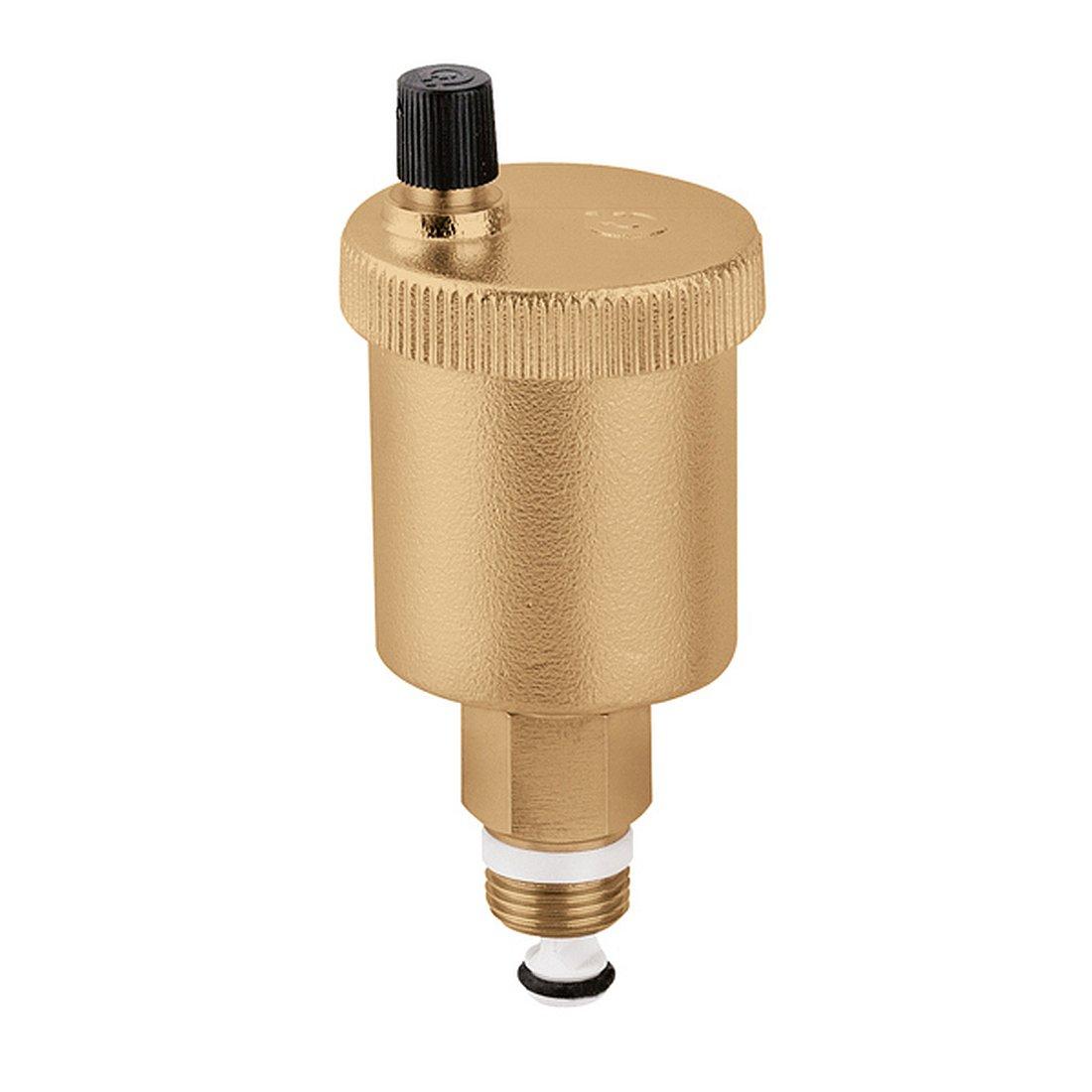 Caleffi 502140 MINICAL Purgeur d' Air Automatique 1/2\'\' M avec Clapet d' Isolement