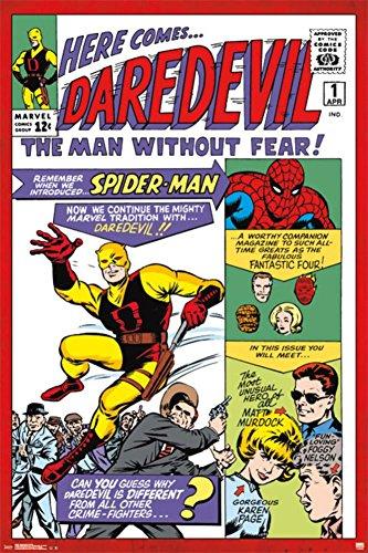 [Daredevil #1 Poster 24 x 36in] (Daredevil Costumes Marvel)