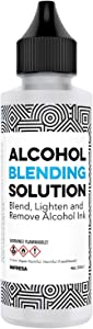 4 oz Alcohol Blending Solution - Compatible with Adirondack (R) Alcohol Ink Colors - Multipurpose, Compatible with All Brands - Made in The USA