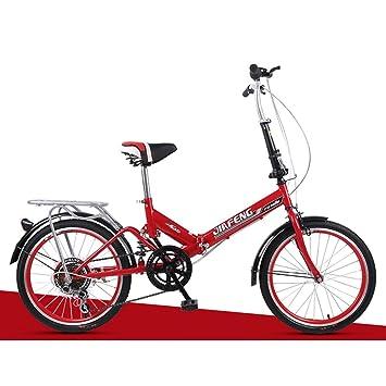 XQ XQ-URE-600 20 Pulgadas Bicicleta Adulta De 6 Velocidades Que Amortigua La