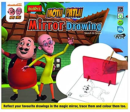 Buy Motu Patlu Mirror Drawing Online At Low Prices In India Amazon In