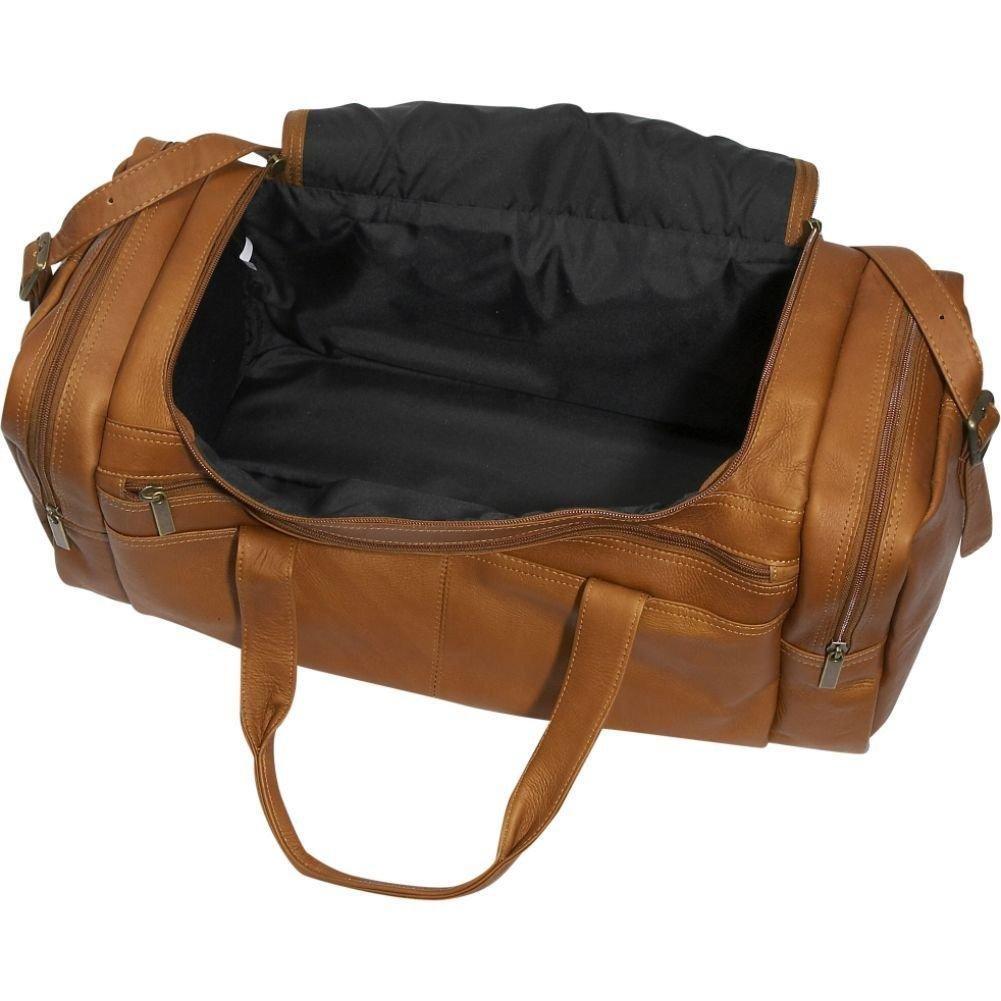 David King Leather Classic Duffel Bag in Black