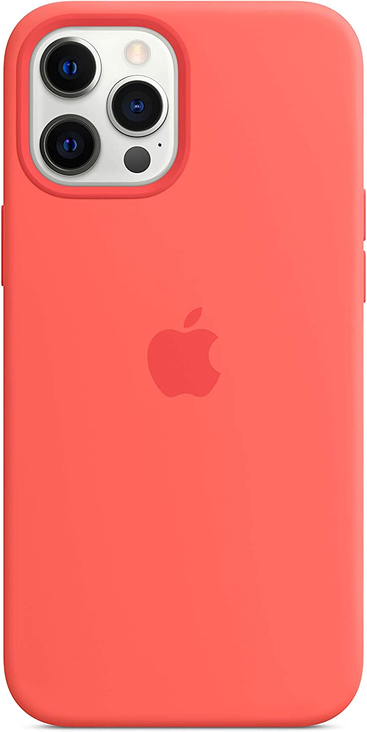 Apple Silicone Case with MagSafe (for iPhone 12 Pro Max) - Pink Citrus