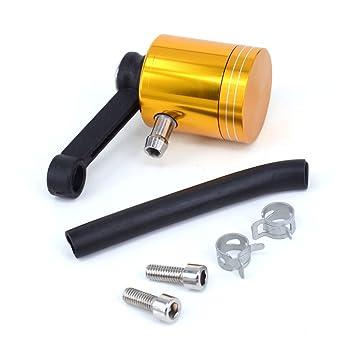 Fast Pro Taza de depósito de aceite de freno frontal de aluminio CNC para Suzuki RM250, RMZ250, RMZ450, DRZ400 Mororcycle Dirt Pit Bike: Amazon.es: Coche y ...