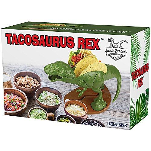 (Set) Nachosaurus w/Dip Bowl & Tacosaurus Rex Holder - Prehistoric Appetite by Barbuzzo (Image #4)