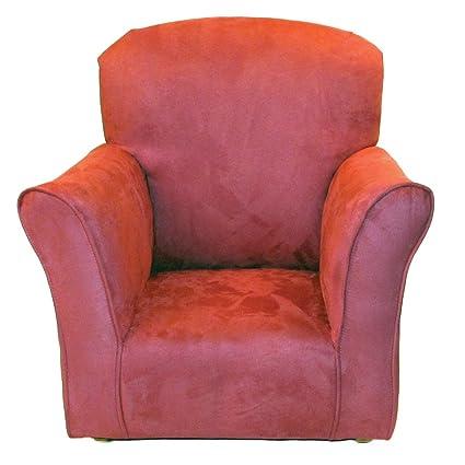 Brighton Home Furniture Toddler Rocker in Rose Microfiber