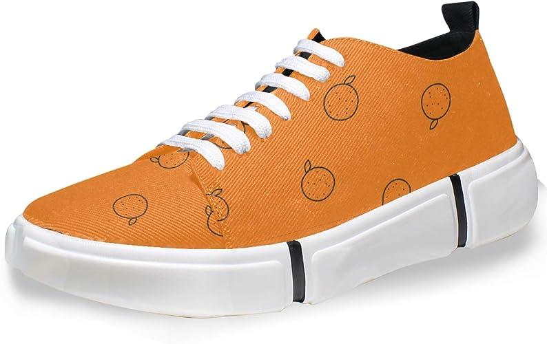 FANTAZIO Zapatillas de Running para Hombre, Color Naranja ...