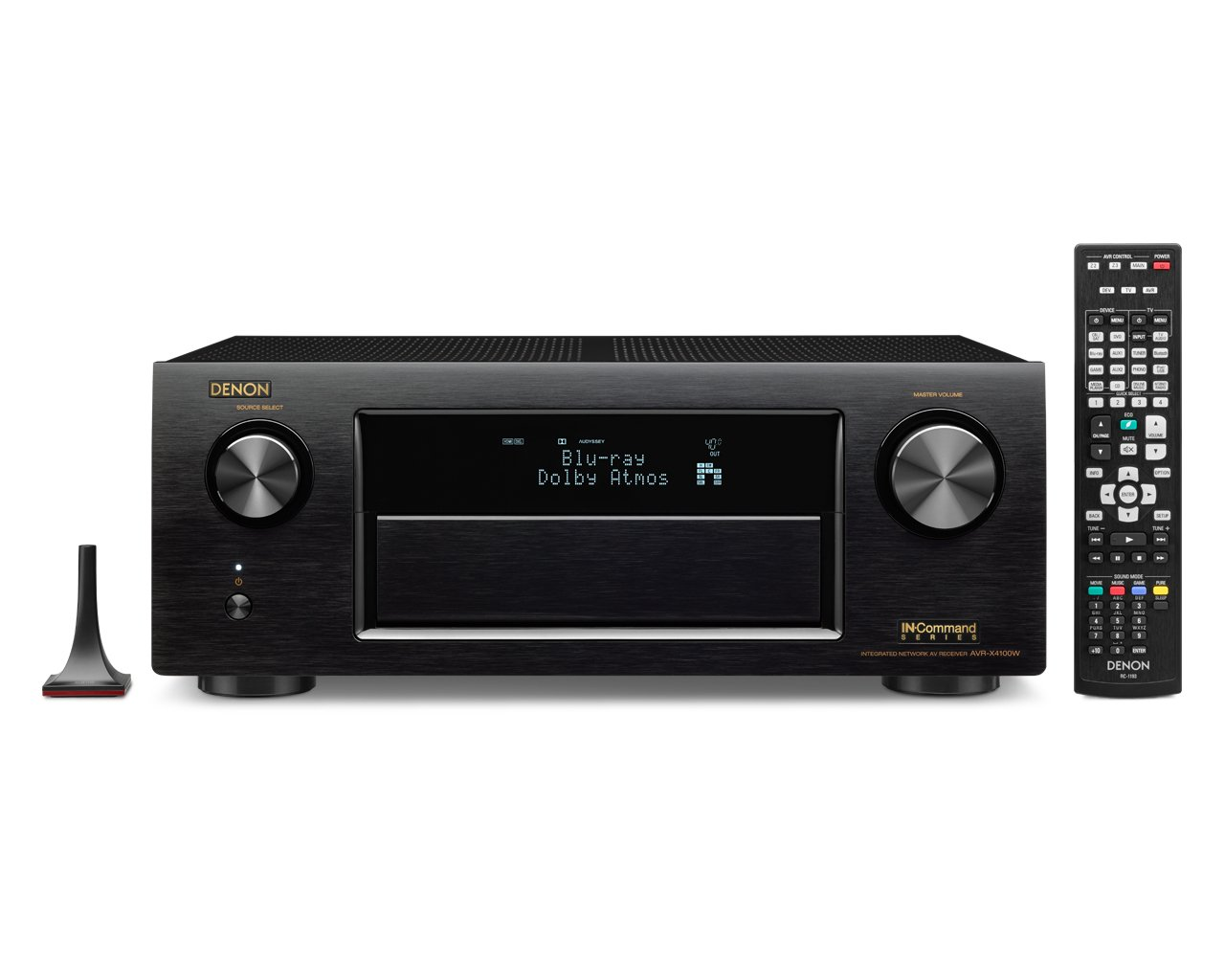 Denon AVR-X4100W 7.2 Network AV Receiver with Wi-Fi, Bluetooth and Dolby Atmos by Denon